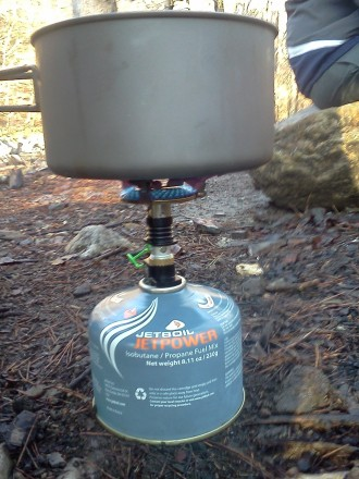 Perfect Canister Stove