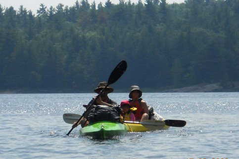 Jackson daytripper recreational kayak expedition