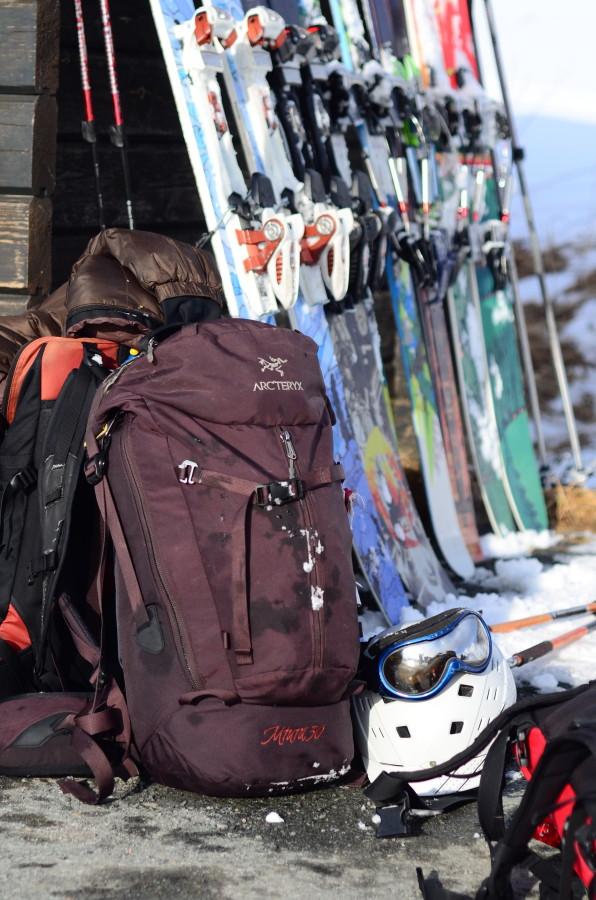 After ski touring