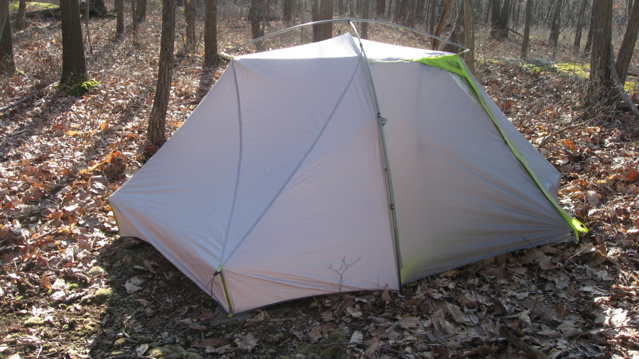Ultralightweight Backpacking Tent