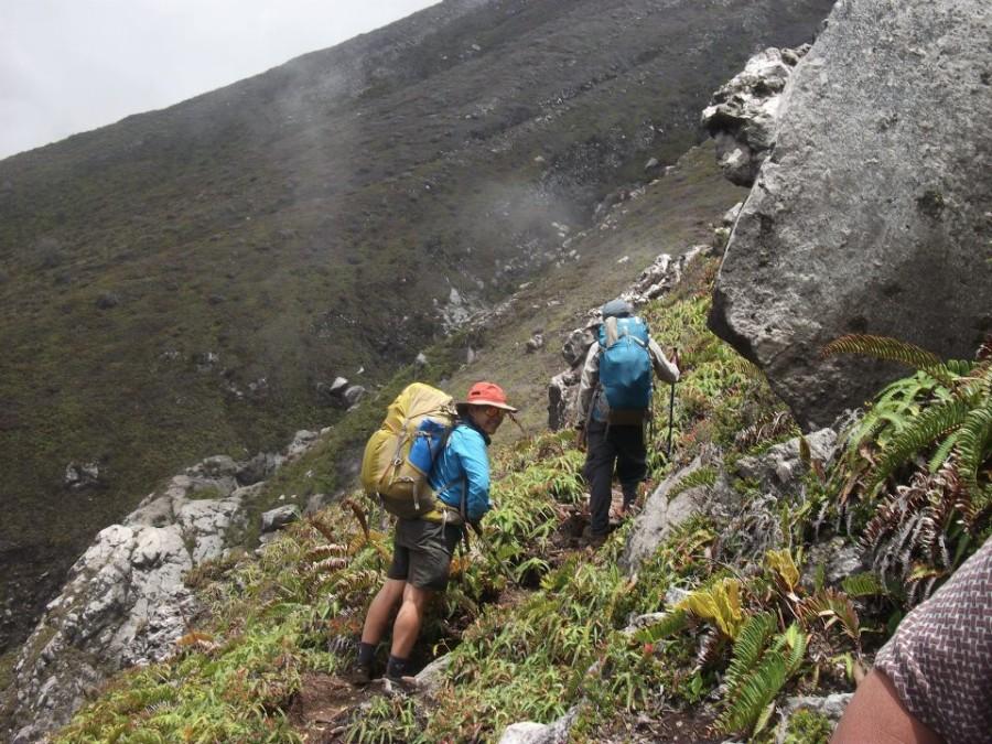 ascending boulders