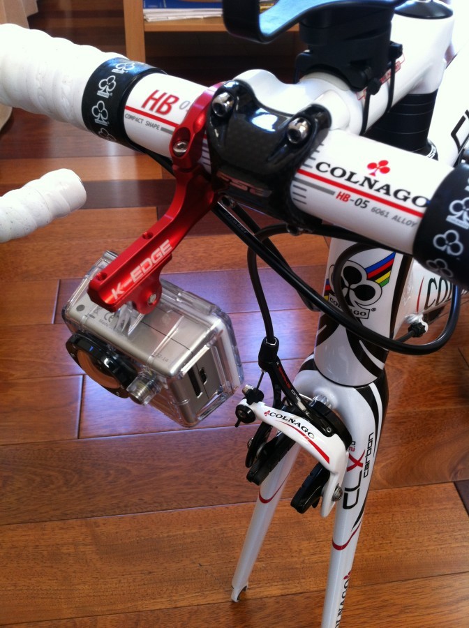 Colnago with GoPro Recon Camera