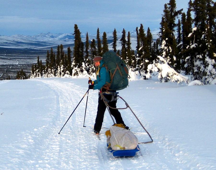 Skitouring in Alaska