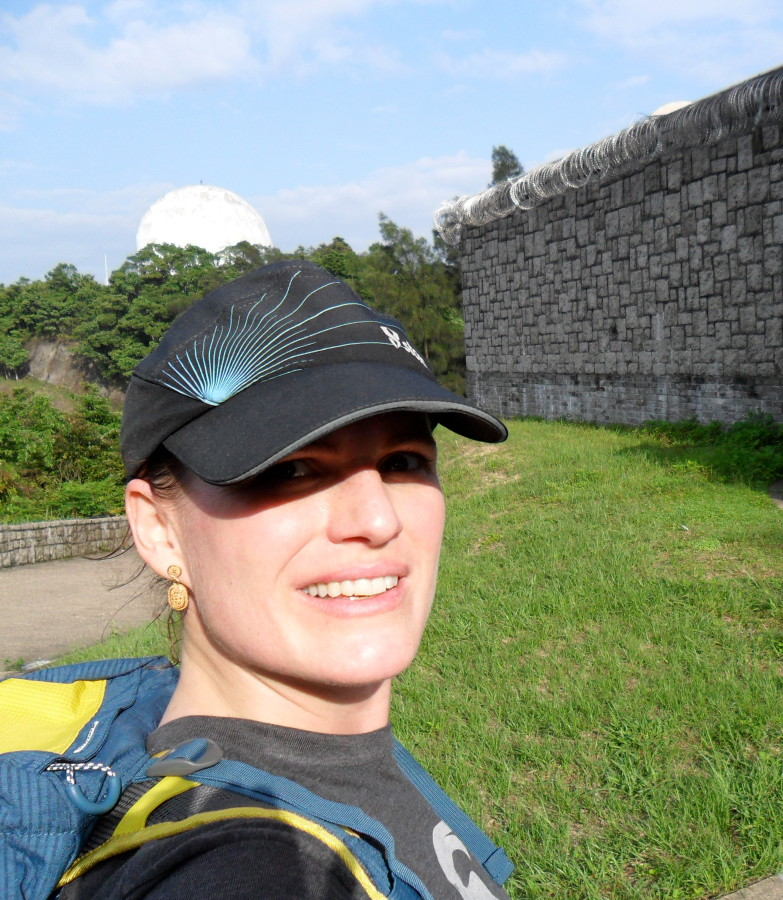Great Trail Running Hat Kept Sweat out of my eyes in Hong Kong