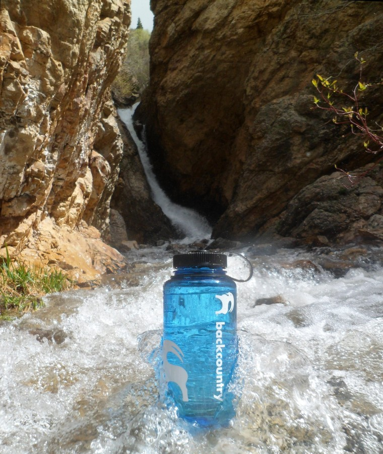 Cold Wasatch Spring Water