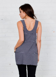 Arbor Anchor Tank Top - back