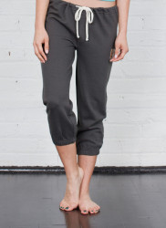 Arbor Nightcap Sweatpant - Dark Shadow.  3/4 length