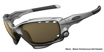 Silver/Black Persimmon Iridium Vented