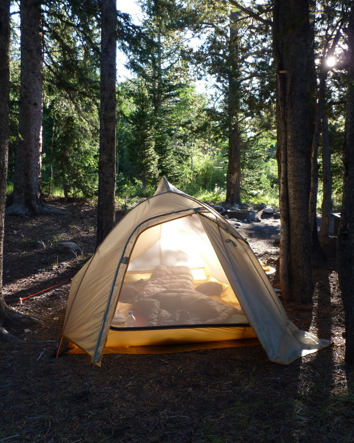 Excellent tent - amazing for backpacking