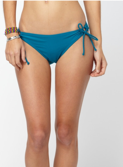 Roxy Surf Essentials '70s Low Rider Tie Side Bikini Bottom