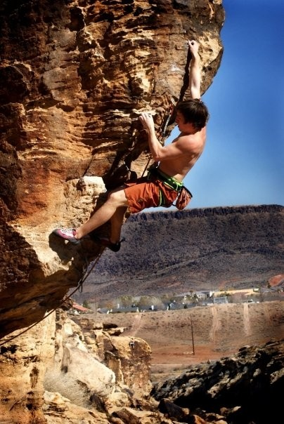 Onsighting 5.12c