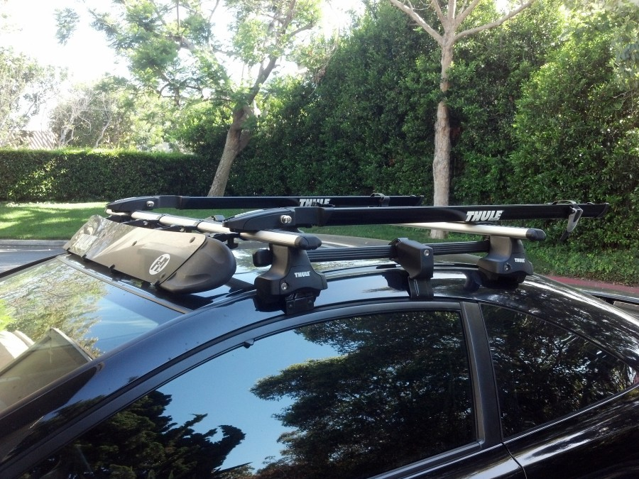 Thule Rapid Traverse w/ 487 Short Roof Adaptor