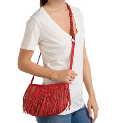 Vans Fringed Up Cross-Body Purse
