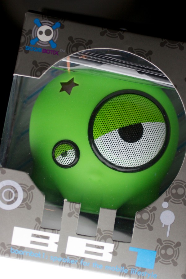 Boombotix BB1 Meanie Greenie