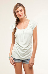 Picture of the Sanibel Top on--super comfy!!!
