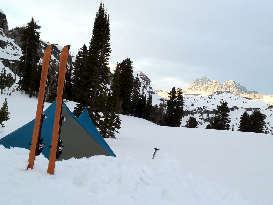 Teton Crest Trail - up on Death Canyon Shelf