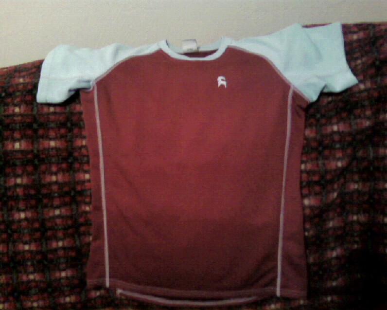 Cocona Shirt in Radish/Cirrus
