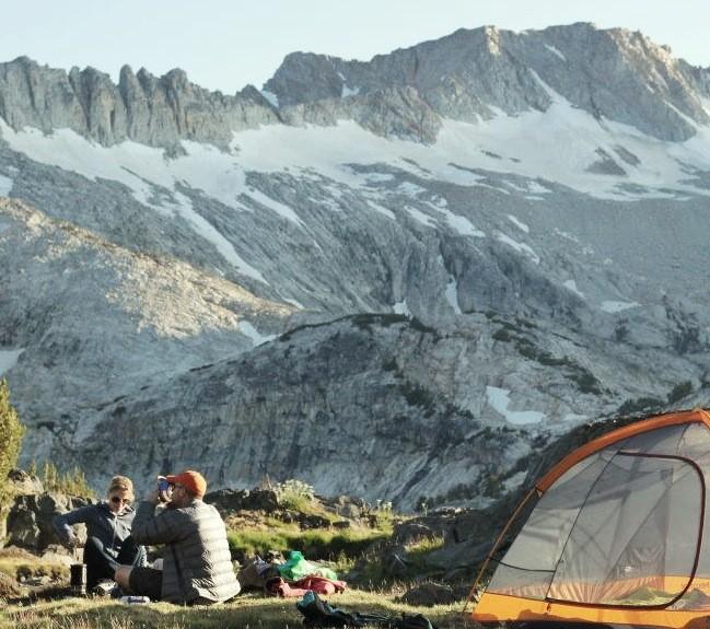 Sierra camping