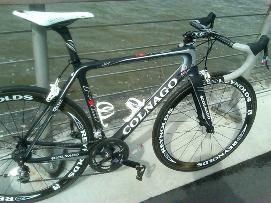 My M10 Colnago with Arione CX