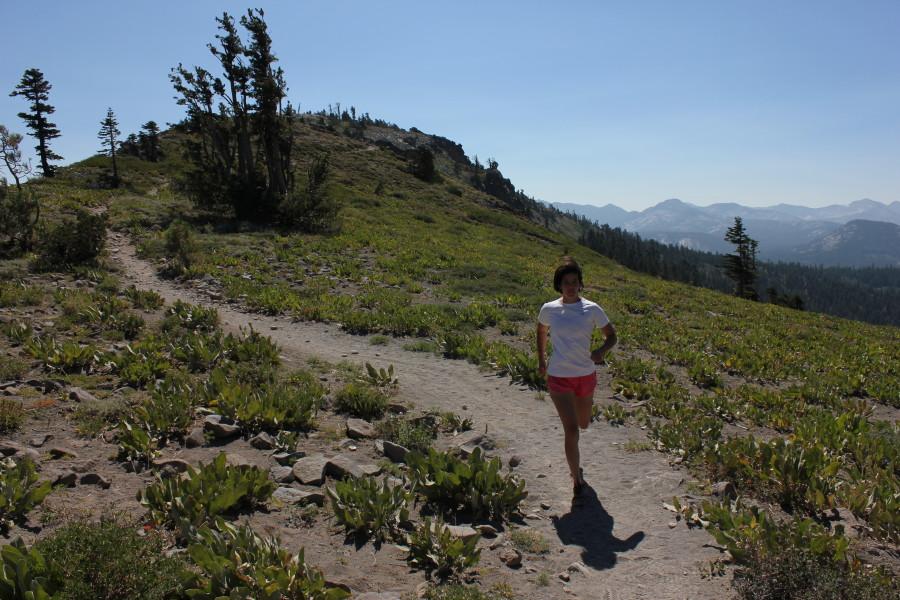 Tahoe trail running