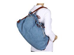 DENIM PURSE?!  So amazing!
