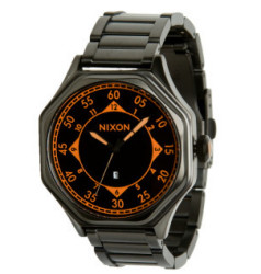 Nixon Falcon Watch in Black