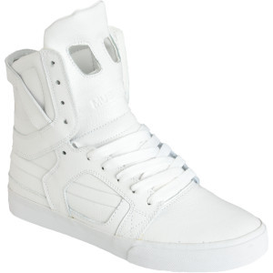 White Action Supra Skytop II
