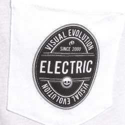 White pocket logo