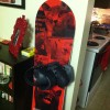 my set up with the forum republic bindings (mens bindings, I know, but I love them haha)