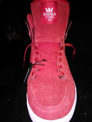 Supra Vaider High / Red Perf
