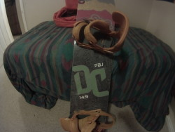 cobra shark bindings and DC pbj deck