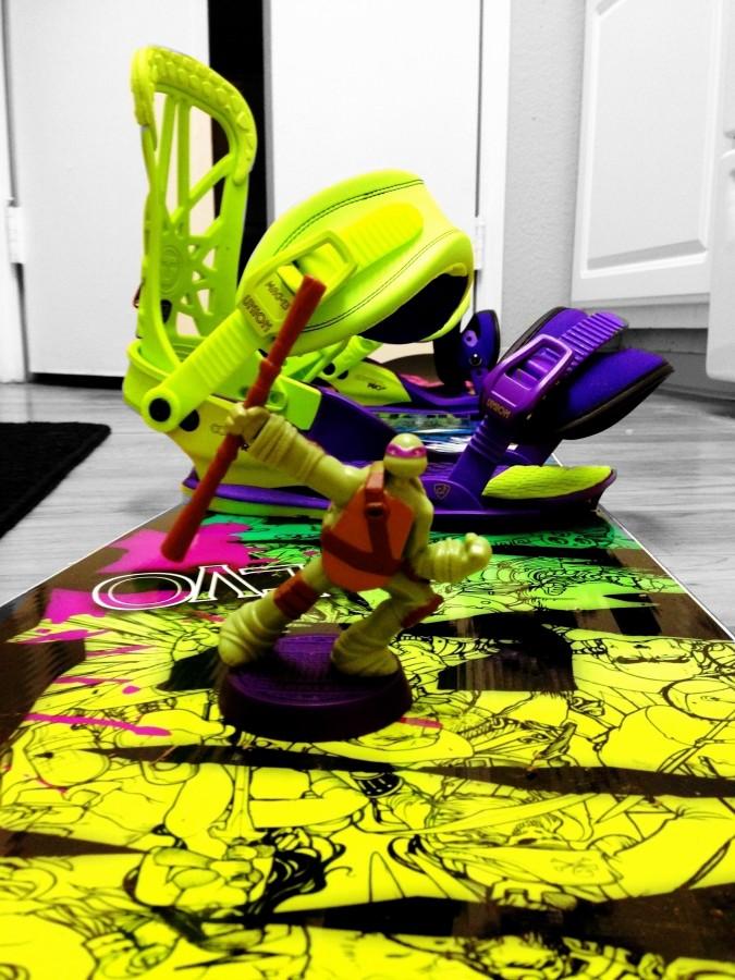 Super light ninja turtle bindings.