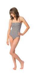 Volcom Women's Jail Bird One Piece Swimsuit