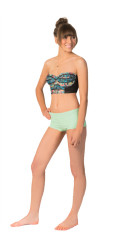 Hurley One & Only Solids Boyshort Bikini Bottom