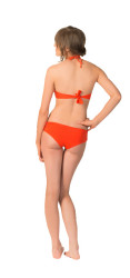 L-Space Women's Sweet Chic Diva D Ring Bikini Bottom