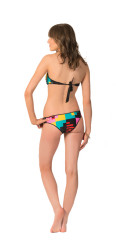 Volcom Women's Block Box Tube Bandeau Bikini Top