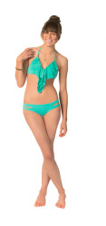 L Space Sensual Solids Estella Bikini Bottom