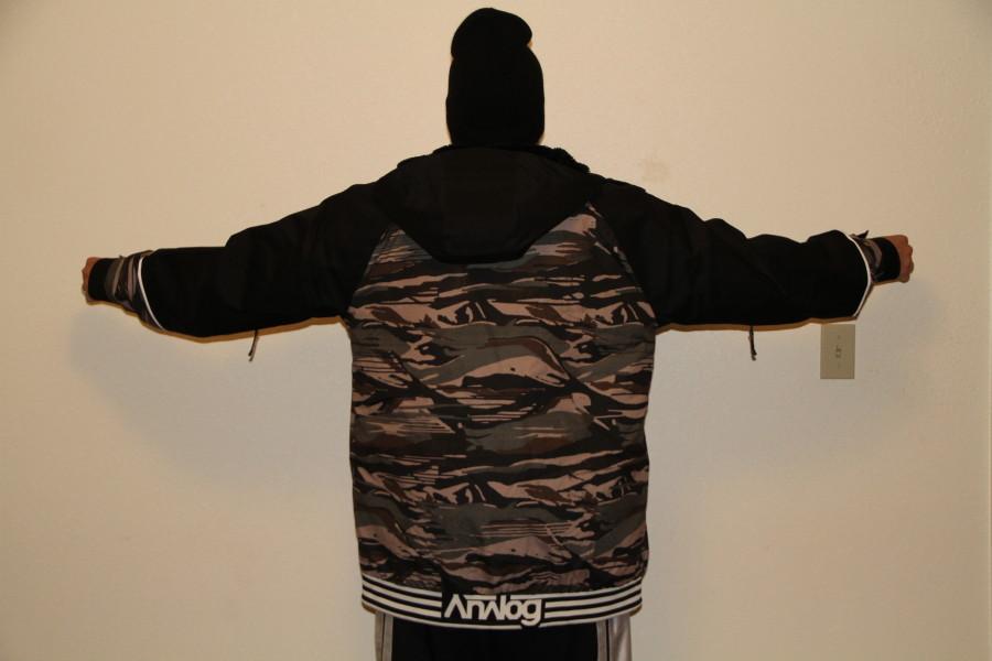 Back of Greed Jacket
