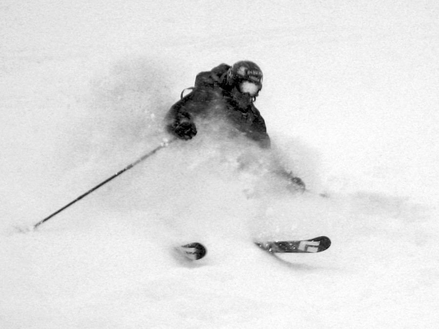 Ripping it at  Mt. Baker