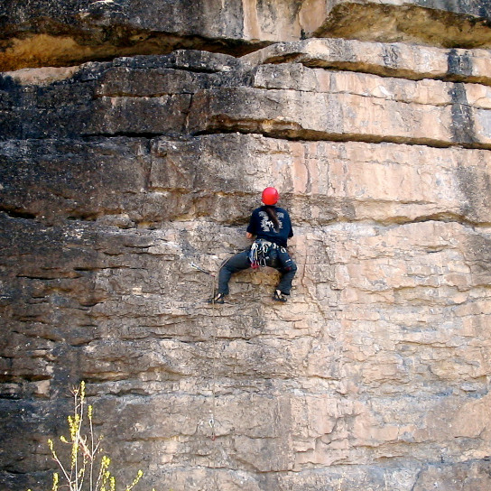 Sport Climbing With The Ecrin Roc