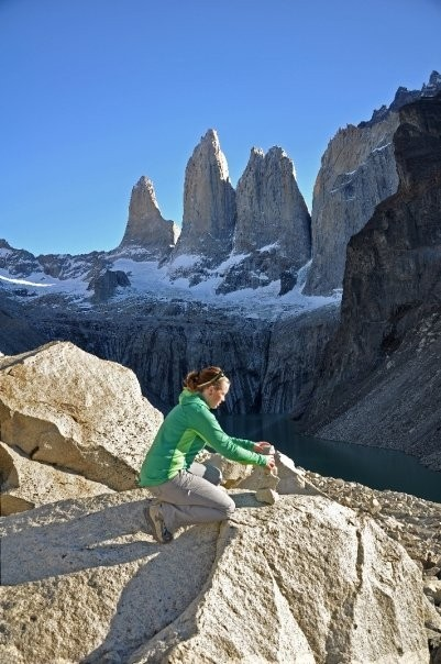 Sporthill rockin' it in Patagonia