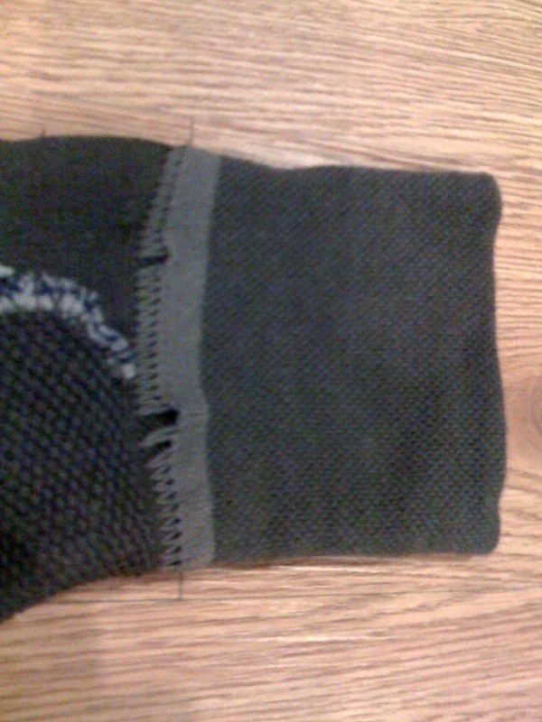 stitching... but still AWESOME sock!