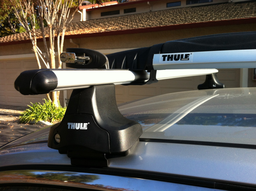 Thule Rapid on my Infiniti G35
