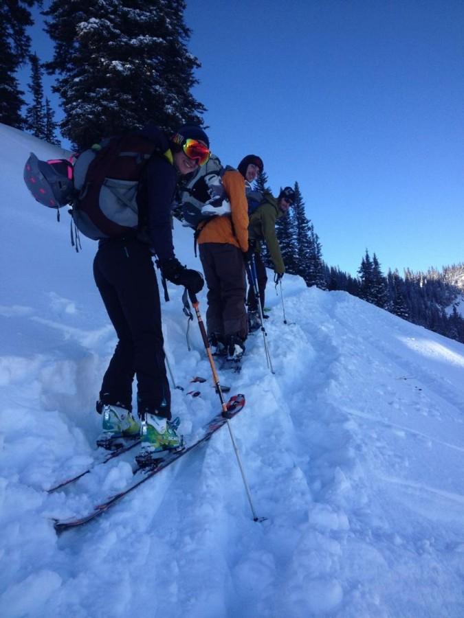 Uphill awesomeness!