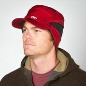 Acetylene Hat with ear warmers down