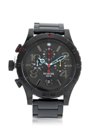 Andrew, I think what you are looking for is an LTD watch we did last year. We only made 500 of them worldwide and they sold out in the first day. Im attaching a photo of the LTD watch to confirm the unfortunate news. Sorry my man. The All Black Multi color for sale here is the closest you will get to that color.