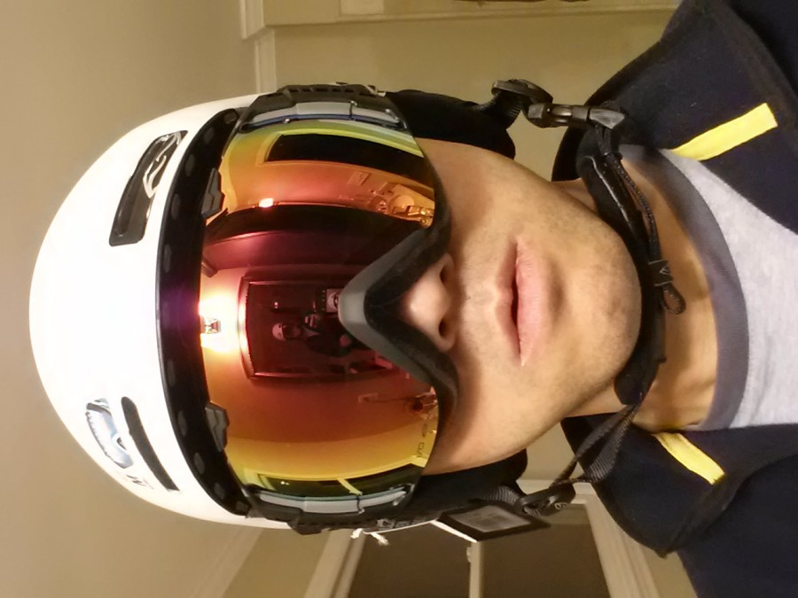 Trying on my new IO and Maze