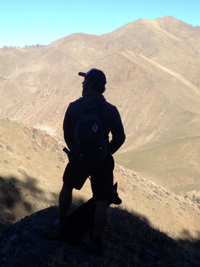 Marmot Ascend shorts in Kern Canyon