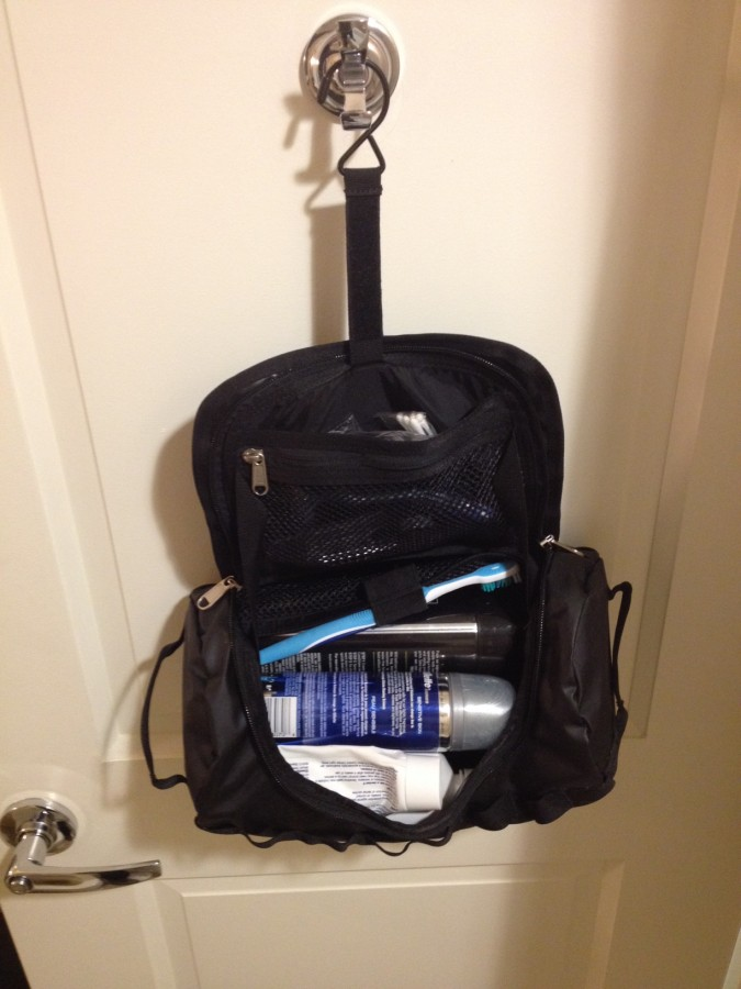 Perfectly sized toiletry bag
