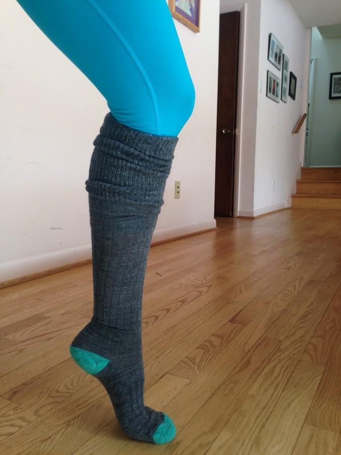 perfect legging sock